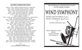 2010 Spring- Wind Symphony - Program