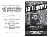2009 Fall - Night on Broadway - Program
